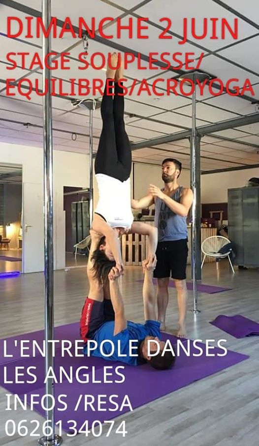 STAGE SOUPLESSE QUILIBRE ACROYOGA