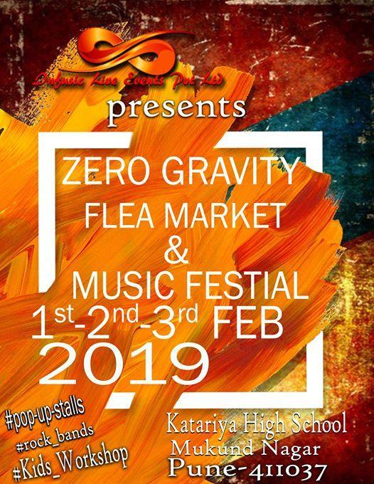 ZERO Gravity Flea Market & Music Festival.