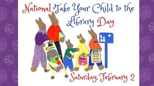 National Take Your Child To The Library Day