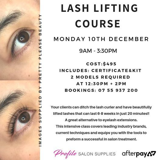 Lash Lifting course at Profile School of Hair, Nails & Beauty, Gold