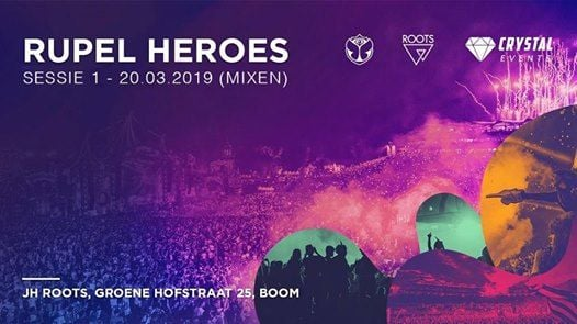 Rupel Heroes Sessies Mixen Producen en Management