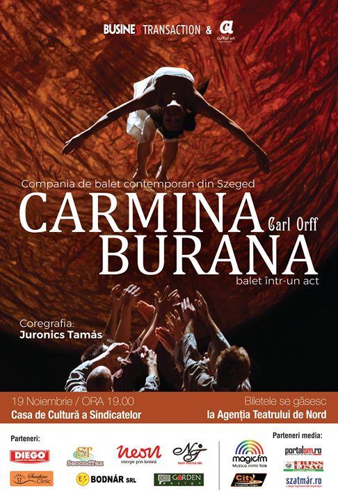 Spectacol De Balet Carmina Burana