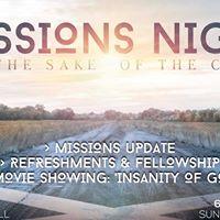 FBC Missions Night