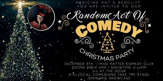 Random Act Of Comedy Christmas Party