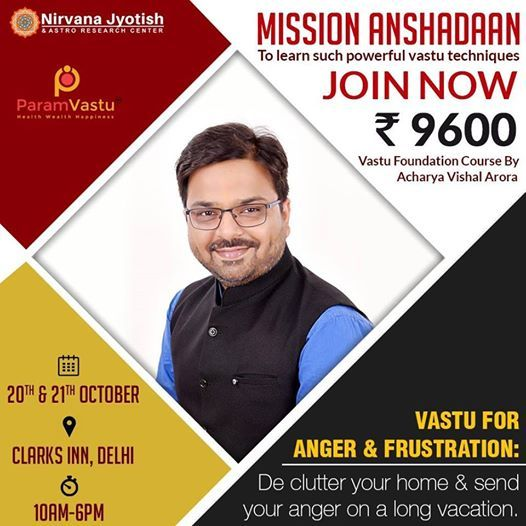 2 Day Vaastu Foundation Course by Acharya Vishal Arora