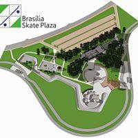 Parque da cidade Park Plaza Pista de Esportes Radicais e Lazer