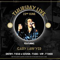 Gary Lawyer live at Hard Rock Cafe Pune