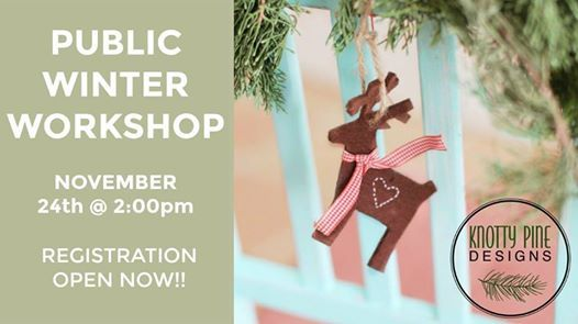 Winter Workshop - Wood Signs - Open to Everyone