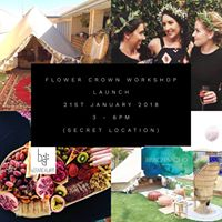 Flower Crown Workshop Launch - B&ampB and BotanicalDEN unite