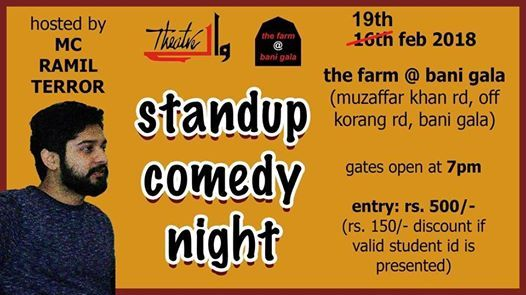 Standup Comedy Night at The Farm