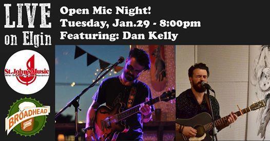 Open Mic - Featuring Dan Kelly