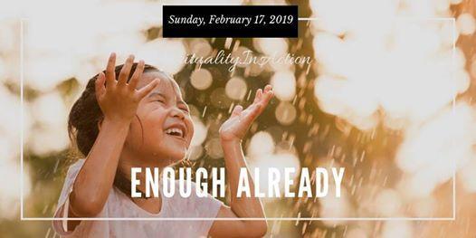 Sunday Experience Enough Already