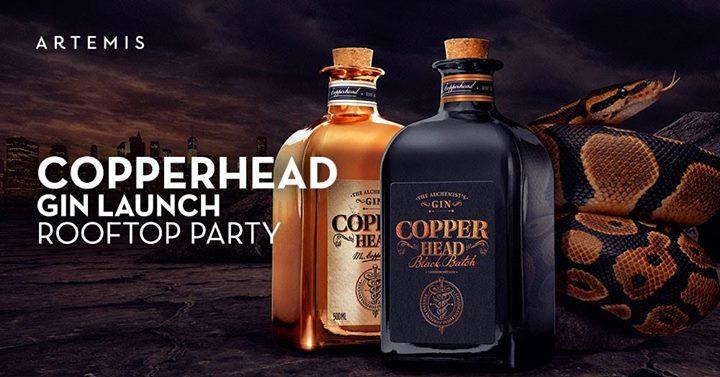 Copperhead Gin Launch