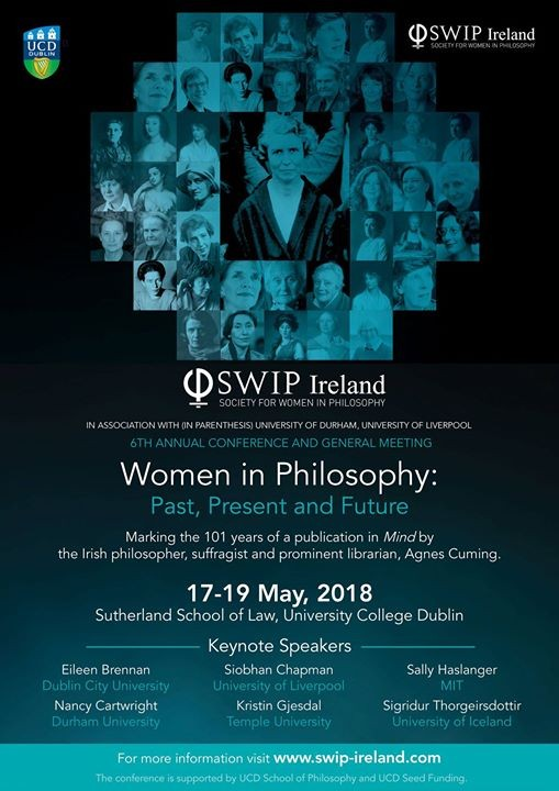 Women in Philosophy Past Present & Future