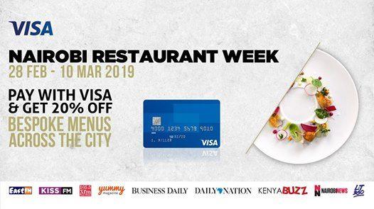 Nairobi Restaurant Week 2019