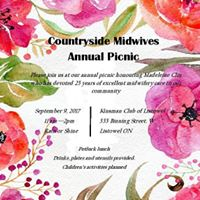 Countryside Midwives Annual Picnic