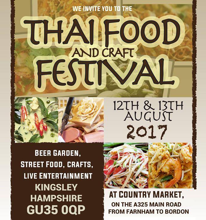 Thai Food & Craft Festival 2017