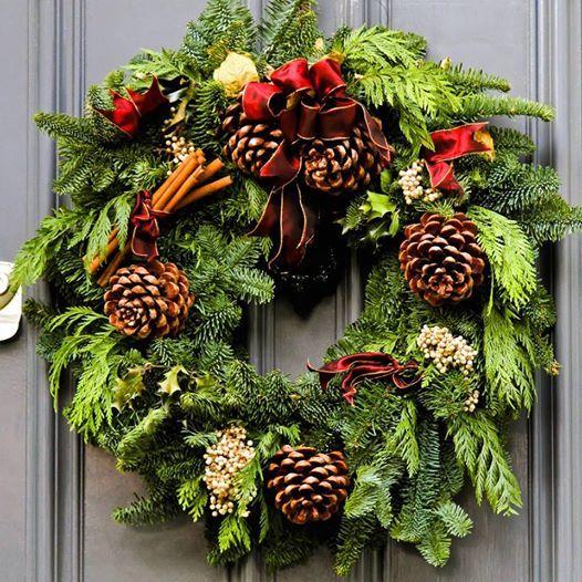 Christmas Wreath Making Workshop At Aberdeen Wellbeing Centre Aberdeen