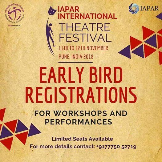 I A P A R International Theatre Festival 2018
