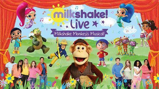 Milkshake Live - Milkshake Monkeys Musical