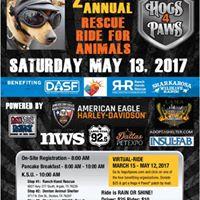 Hogs 4 Paws Rescue Ride