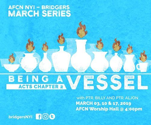 March Series Being A Vessel
