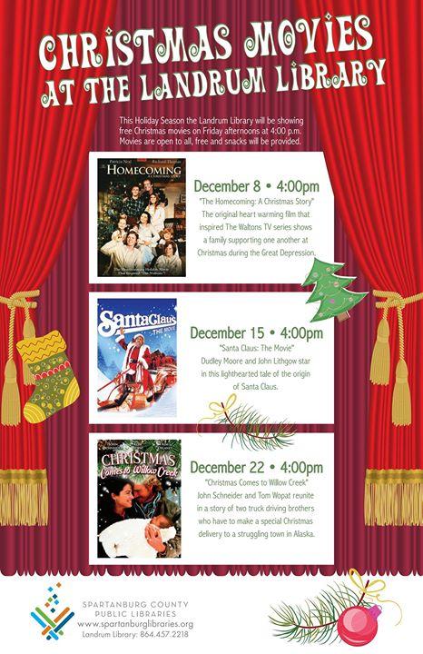 Christmas Comes To Willow Creek.Christmas Movie Christmas Comes To Willow Creek At Landrum