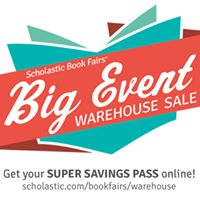 Scholastic Book Fairs Big Event Warehouse Sale