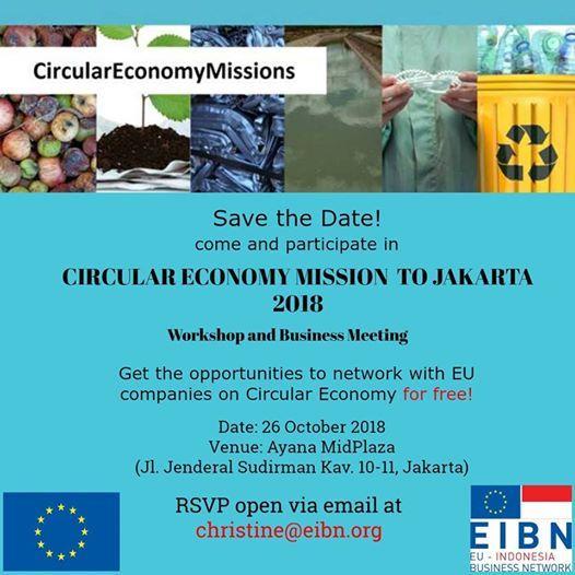 Circular Economy Mission to Indonesia 2018