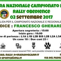 GARA Rally Obedience FISC