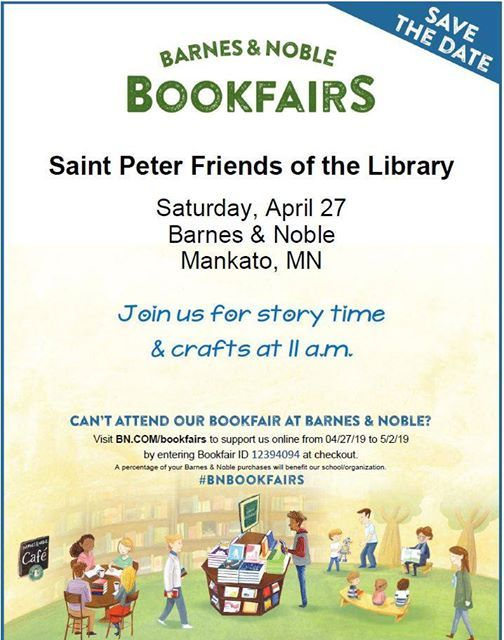 Friends Of The Library Barnes Noble Bookfair At Saint