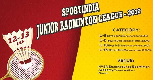 Sportindia Junior Badminton Open - Powered by Maspro