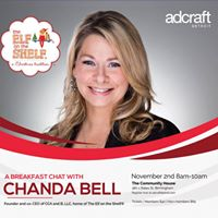 Breakfast chat with Chanda Bell