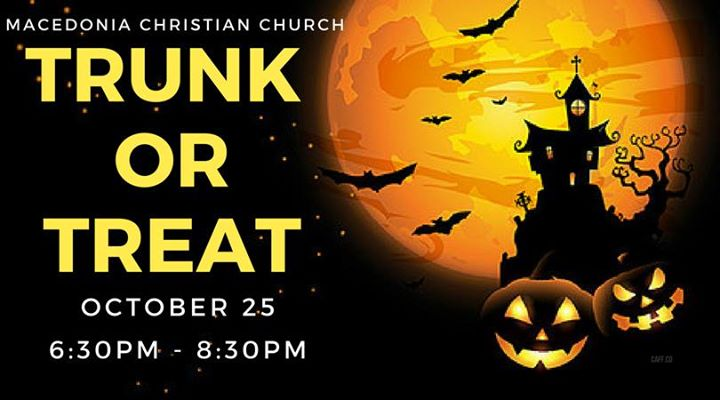 Macedonia Christian Church Trunk Or Treat At 2428 Us 17 Alt Bonneau