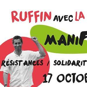 F. Ruffin avec la Carmagnole - Manifestive
