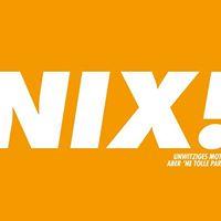 NIX - Die Party im Zimmer