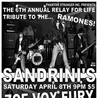6th Annual Relay For Life Charity Event at Sandrinis