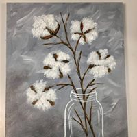 Cotton Pickin Painting Party