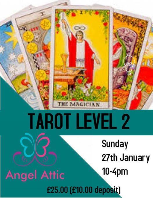 Tarot Level 2 on Sunday 27th January at Angel Attic
