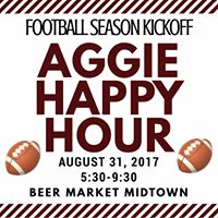 August Aggie Happy Hour