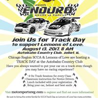 Track Day to support Lemons of Love
