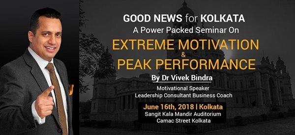 Dr. Vivek Bindra Kolkata Event