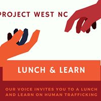 Lunch and Learn on Human Trafficking in WNC