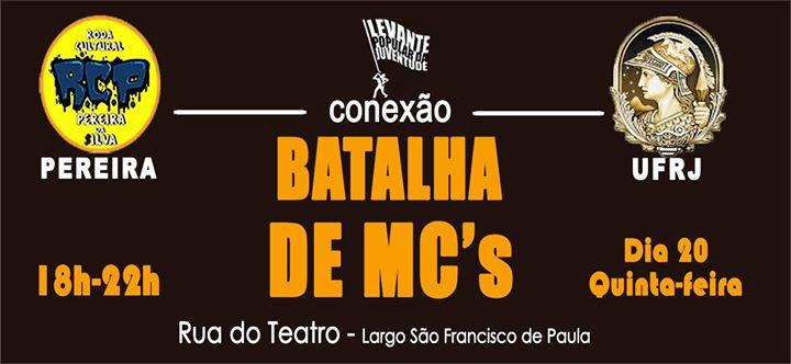 Batalha de MCs conexo Pereira - UFRJ