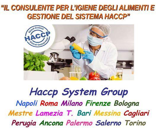 Consulente Igiene degli Alimenti e Gestione del Sistema HACCP