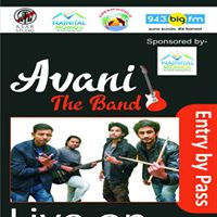 Live Concert By Avani- The Band  DJ Night