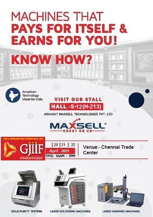 GJIIF Show 2019 - B2B Jewellery Trade Show in Chennai