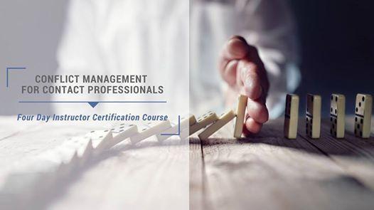 Conflict Management Instructor Certification (N.Little Rock AR)