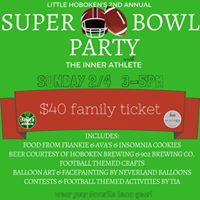 Second Annual Family Superbowl Pre-Party