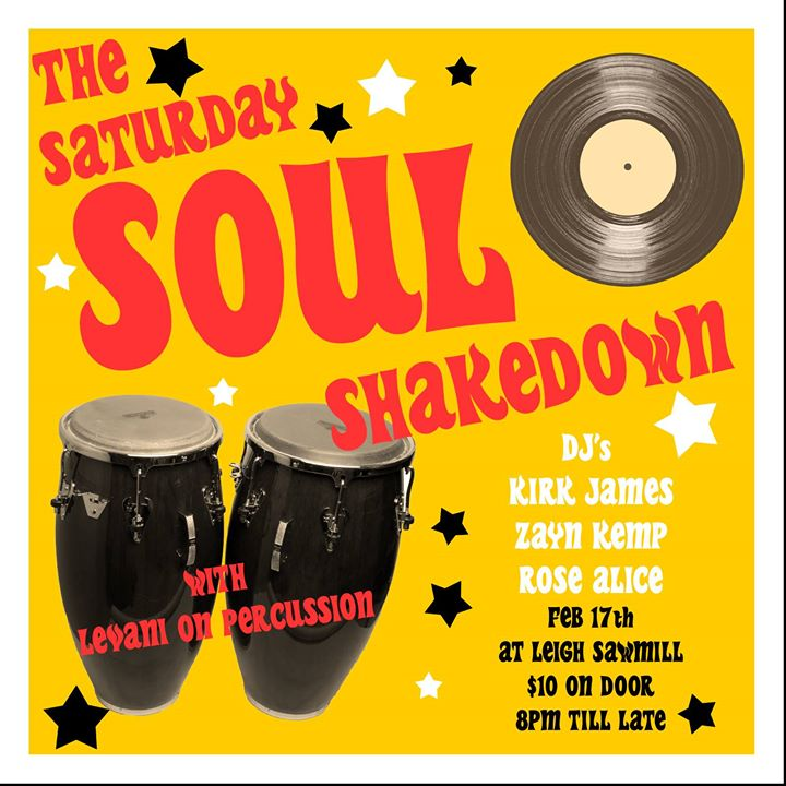 The Saturday Soul Shakedown